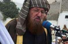 مولانا سمیع الحق کا قتل امت مسلمہ کے لئے ناقابل تلافی نقصان ہے، پیر ..