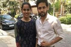 سائنا نیہوال نے ساتھی کھلاڑی پاروپالی کیشپ کے ساتھ شادی کرلی