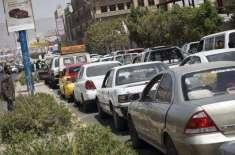 یمن میں تیل کا بدترین بحران، ایک گیلن پٹرول کی قیمت 16 ہزار ریال تک جاپہنچی،سٹیشنوں ..
