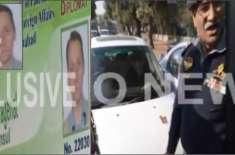 نئے پاکستان میں غیر ملکی سفارتکاروں کی ٹریفک قوانین کی خلاف ورزیاں ..