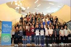 ایک ہی سکول میں 45  جڑواں بچوں  کے جوڑوں نے عالمی ریکارڈ بنا دیا