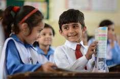 شرح خواندگی بڑھانے میں والدین ،اساتذہ اور طلبہ مشترکہ کردار اداکریں'سرمد ..