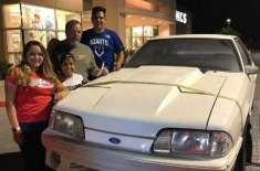 Children buy back car dad sold to pay mum's cancer treatment 17 years ago