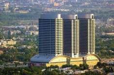 اسلام آباد میں تجاوزات کیخلاف آپریشن، سینٹارس مال کا ایک حصہ منہدم ..