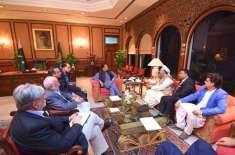 وزیر اعظم سے وزیر اطلاعات کی ملاقات،