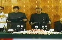 وزیراعظم عمران خان کی تقریب حلف برداری میں سادگی کی اعلیٰ مثال قائم