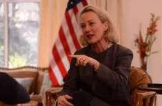 امریکی نائب معاون وزیرخارجہ4 روزہ دورے پر پاکستان پہنچ گئیں