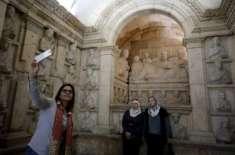 چھ سال بعد دمشق کے نیشنل میوزیم کے دروازے عوام کے لیے دوبارہ کھل گئے