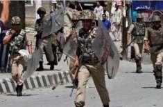 مقبوضہ کشمیر:بھارتی فوج کےمظالم کا سلسلہ بدستورجاری