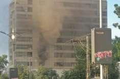 علی ٹاور آتشزدگی میں صاف پانی کمپنی کا ریکارڈ جلائے جانے کا دعویٰ