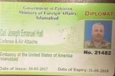 USA assures Pakistan of strict action against Colonal Joseph