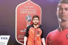 متحدہ عرب امارات میں مقیم عراقی نوجوان نے فیفاای گیم چیلنج جیت لیا
