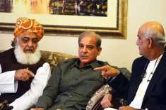 مولانا فضل الرحمان صادق سنجرانی کو ہٹوا کر اپنے بھائی کو چئیرمین سینٹ ..