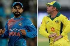 بھارتی کرکٹ ٹیم 21 نومبر کو ون ڈے میچ سے دورہ آسٹریلیا کا آغاز کریگی