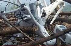 پاک فوج نے لائن آف کنٹرول پر بھارتی جاسوس ڈرون مار گرایا