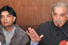 No Chaudhry Nisar in PMLN's Parliamentary Commiittee