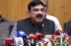 وفاقی وزیر ریلوےشیخ رشید کا بھارت کو کرارا جواب