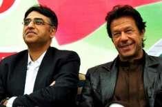 عمران خان سے اسد عمر کی ملاقات ،