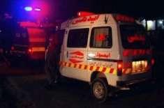 کوئٹہ،پٹرول سے بھری وین کو حادثہ،