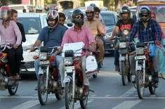 بغیر ہیلمٹ موٹر سائیکل سواروں کے خلاف گرینڈ آپریشن،3ہزار سے زائد موٹر ..