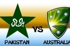 پاکستان اور آسٹریلیا کے ون ڈے سیریز کا پہلا میچ کل کھیلاجائیگا