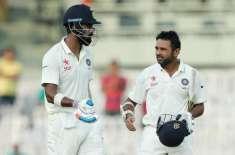 تیسرا ٹیسٹ، بھارت کا انگلینڈ کے خلاف پہلی اننگز میں 6 وکٹوں پر 307 رنز ..