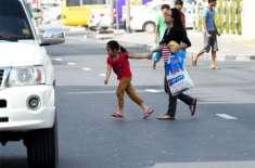 دُبئی:ٹریفک ضوابط کی خلاف ورزی پر راہگیروں کو 400 درہم کا جرمانہ ہو گا