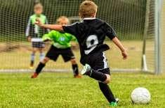 بچے فٹبال ورلڈ کپ فائنل میچز میں ہونے والے گولز کی ہوبہو نقل کر نے لگے ..