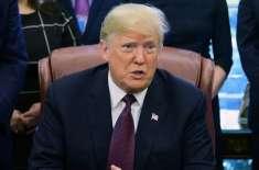 میکسیکو دیوار کے وعدے سے پیچھے نہیں ہٹوں گا، صدر ٹرمپ