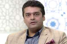 پاکستانی اداکار و گلوکارفخر عالم دنیا کا سفرکرتے ہوئے کراچی پہنچ گئے