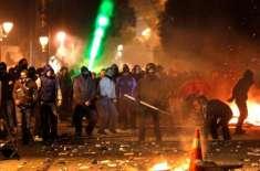 Riots erupt in USA