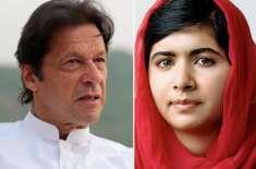 عمران خان کی نسبت لوگ ملالہ یوسفزئی کو زیادہ پسند کرتے ہیں