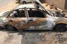 دُبئی: پاکستانی نوجوان نے نوکری سے نکالنے پر دوست کی گاڑی کو آگ لگا ..