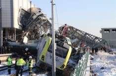 ترکی میں دو ریل گاڑیوں میں تصادم، 9 افراد ہلاک،43 زخمی