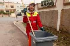 مراکش میں سڑکوں کی صفائی کرنیوالی 25سالہ خاتون مس حسینہ منتخب