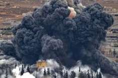 شام کے شہردیرالزور میں داعش کے حملے،
