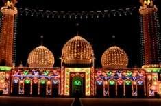 عیدمیلادالنبی ﷺ کل 12ربیع الاول کو مذہبی عقیدت و احترام سے منائی جائیگی، ..