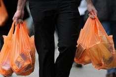 حکومت کا اسلام آباد میں14اگست سے پلاسٹک بیگ پر پابندی لگانے کا اعلان