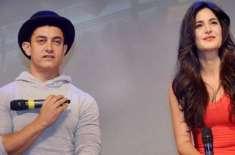 بالی ووڈ اداکار عامر خان بھی کترینہ کیف پر دل ہاربیٹھے