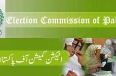الیکشن کمیشن نے انتخابی ضابطہ اخلاق کی خلاف ورزی کا نوٹس لے لیا