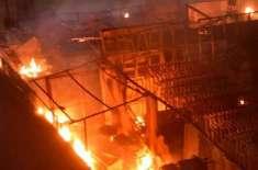 بھارت : مہاراشٹر میں فوجی اسلحہ ڈپو میں دھماکہ ،6 افراد ہلاک ،10زخمی
