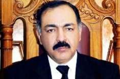 گورنر بلوچستان امان اللہ خان یاسین زئی نے سینیٹر سردار محمد اعظم موسیٰ ..