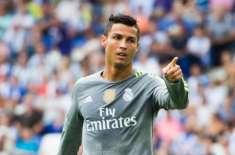 یوئیفا چیمپئنز لیگ: امپائر کی جانب سے ریڈ کارڈ دکھانے پر رونالڈو رو ..