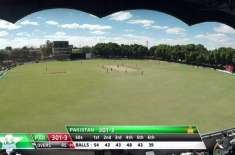Pakistan posted 364/4 vs Zimbabwe