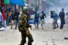 مقبوضہ کشمیر میں بھارتی فوج کی بربریت جاری ، مزید 10افراد شہید،متعدد ..