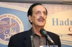 مسلم لیگ (ن) کے سینیٹرز نے راجہ ظفر الحق کی قیادت میں اپوزیشن کی ریکوزیشن ..