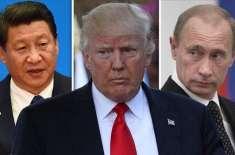 مزید پابندیوں کے حوالے سے روس اور چین کا امریکا کو انتباہ