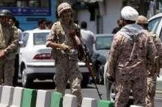 ایران میں فوجی پریڈ کے دوران دہشتگردوں کا حملہ ، متعدد فوجی اہلکار ..