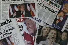 صدرٹرمپ کے بیانات پر 300 امریکی اخبارات کی مہم