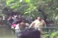 گورنر ہاؤس لاہور میں عوام کے ہجوم کی وجہ سے ناخوشگوار واقعہ
